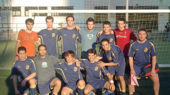 Equipo del fútbol colegio mayor albalat valencia