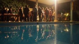 Fin de fiesta en la piscina